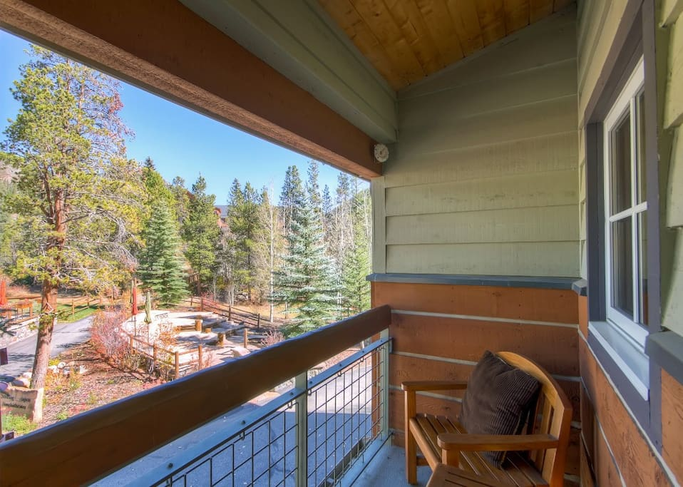 Spend countless hours relaxing on the unit's private balcony.