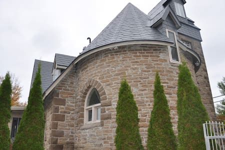 A Historic Gothic Stone Church Home, Canoe, Kayaks - Perth  - House