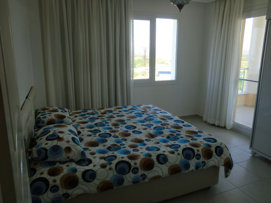 Master bedroom with private balcony (sleeps 2)