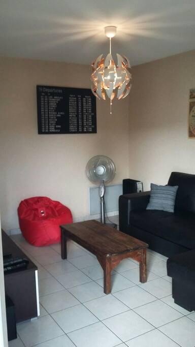 Salon avec TV / Wifi