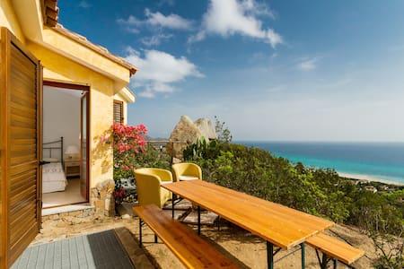 villa vista magnifica spiaggia oro - Costa Rei