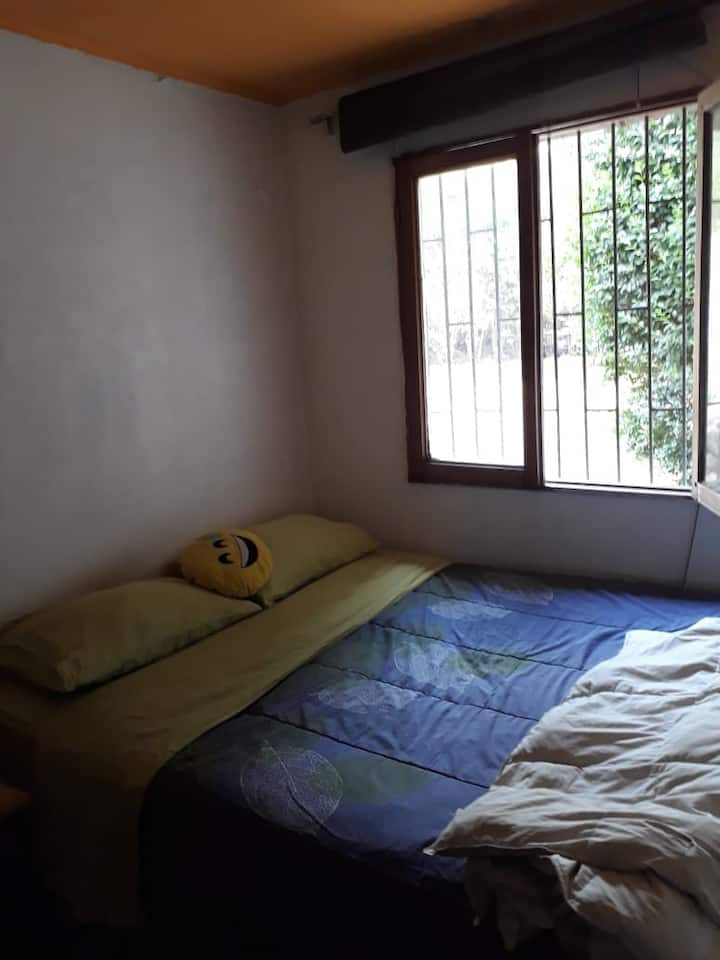 Habitación privada con baño en cajón del maipo
