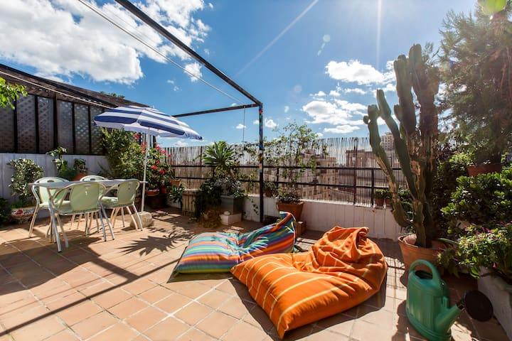 Penthouse with terrace  city center - 발렌시아(Valencia) - 아파트