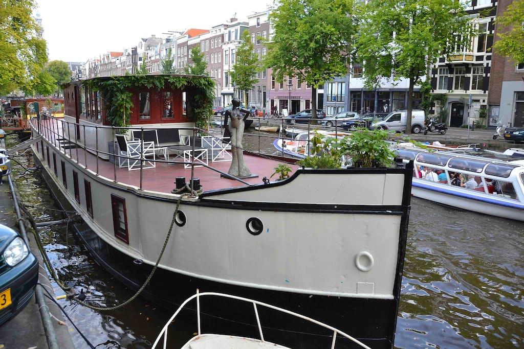 Ship - front deck
