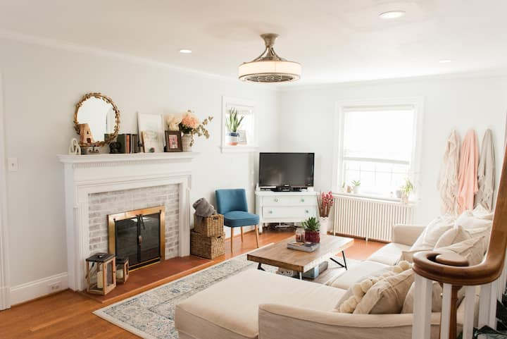 Newly Renovated Historic Bellevue Richmond Home