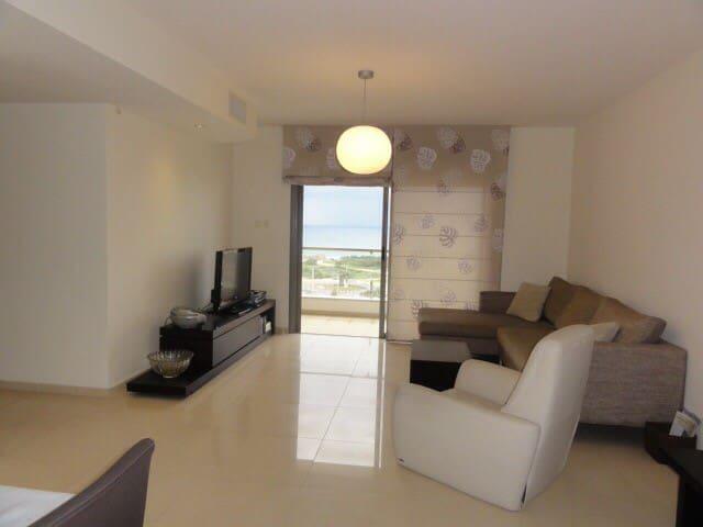 Квартира с прекрасным видом на море - Ашдод - Daire