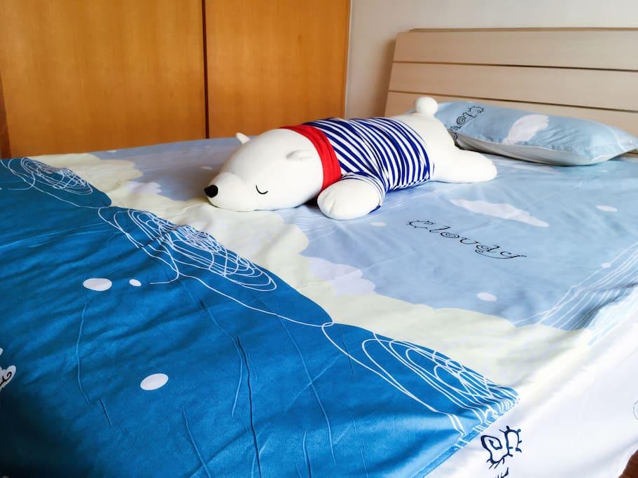 大白熊跟你说晚安~