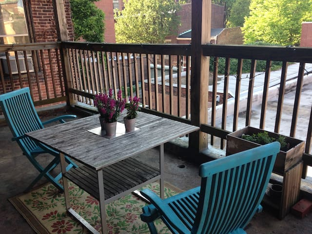 Cozy 1BR in Center City - Philadelphia - Byt
