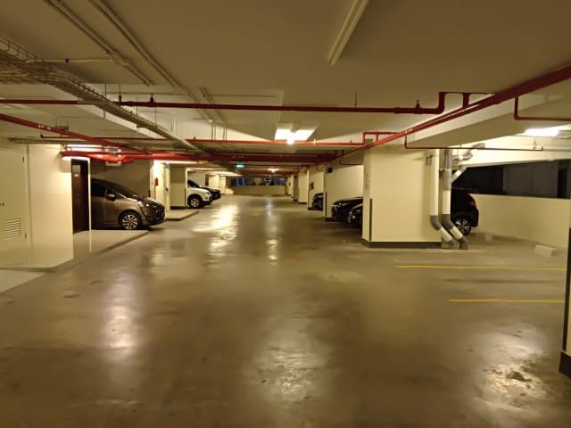 Spacious Parking Space (Car and Motorcycle)