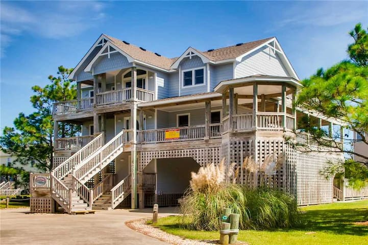 Fun for All Ages-Oceanview w/ Pool, Hot Tub, Game Rm, Pier Passes - 326
