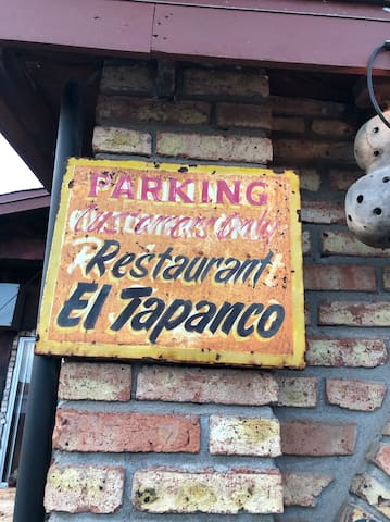 El Tapanco - great restaurant 5 mins up the road