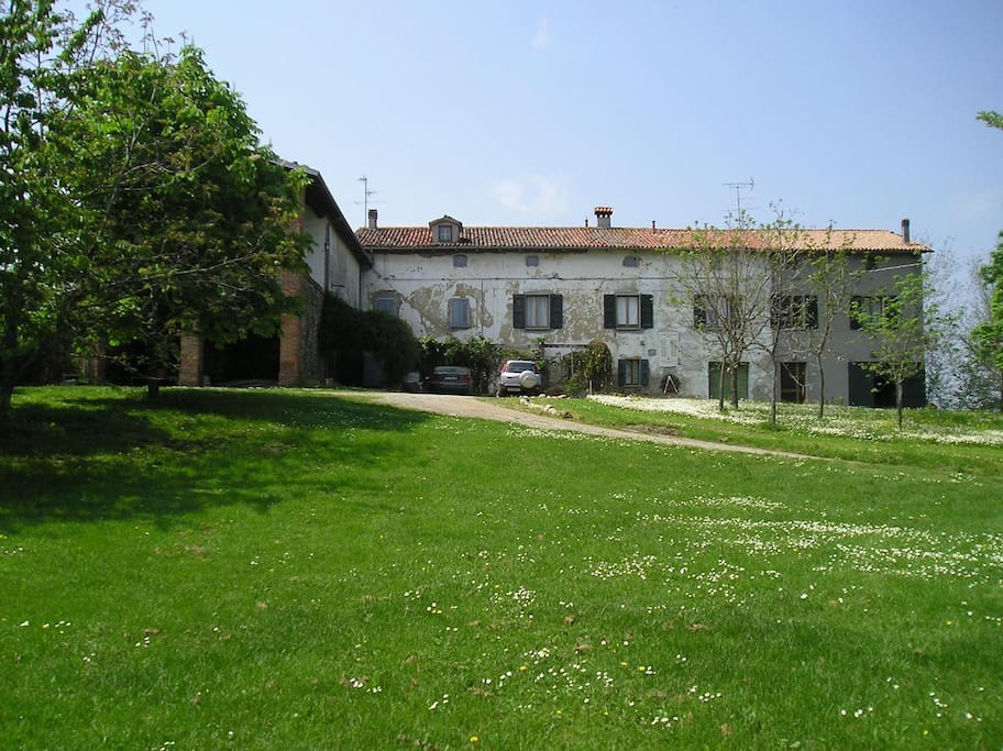 La casa, vista frontale