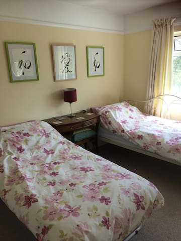 Pretty room, welcoming house, great location