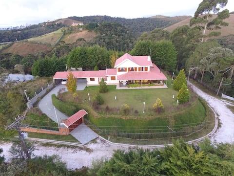 Charming mountain house