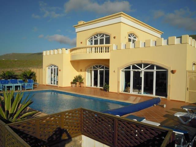 Aglou Plage luxurious beach front villa