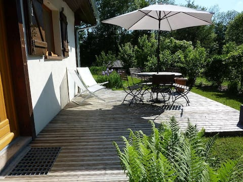 Appartement 4 pers + jardin - Sommand /Les Brasses