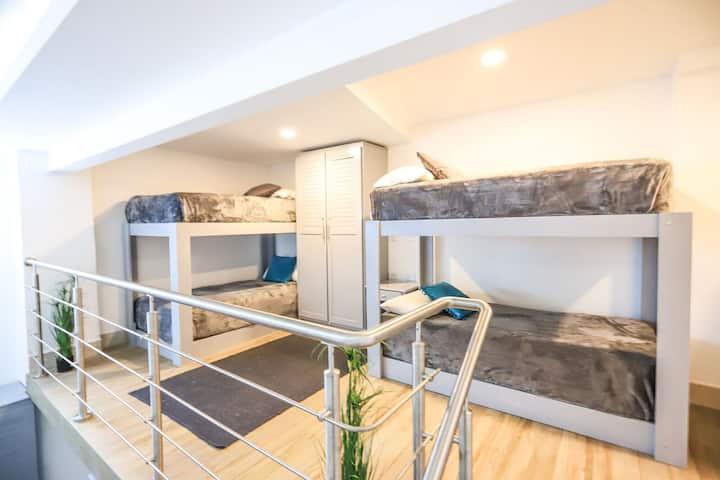 Sleep Like VIPs on a Hostel Budget ~ Shared Room
