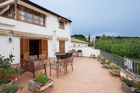 Near Barcelona in Penedès wine zone - Castellet