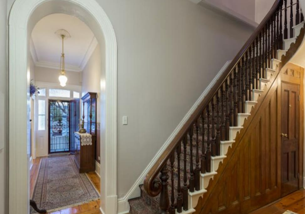 Entrance and staircase to your private room and balcony