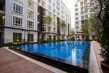 สระว่ายน้ำขนาดใหญ่ (Big size swimming pool)