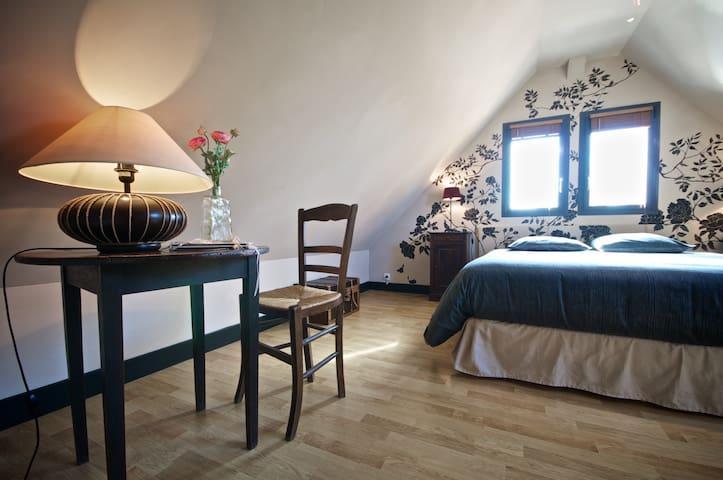 Maison au coeur des châteaux   - Fougères-sur-Bièvre - Casa