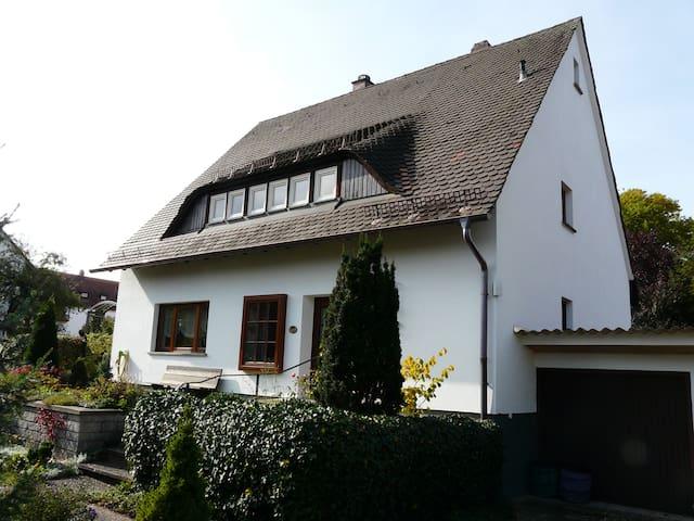 Ruhig gelegene 3 Zimmer - Messenähe - Nuremberg - Apartamento