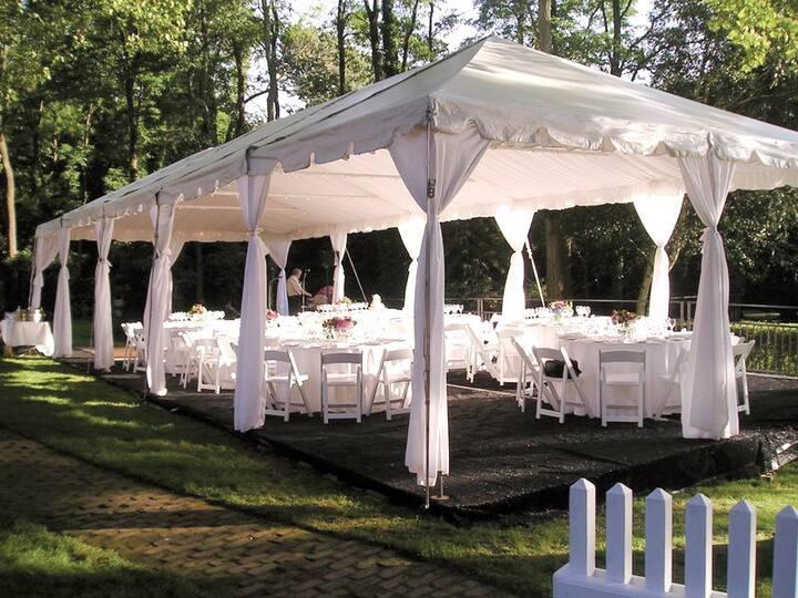 "TIE the KNOT say ""I DO"" Backyard Wedding Pavilion"