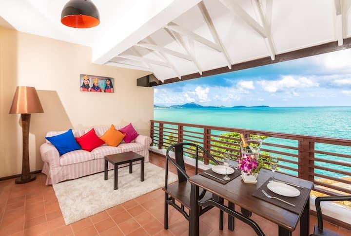 Ocean Front Deluxe 1 Bedroom villa