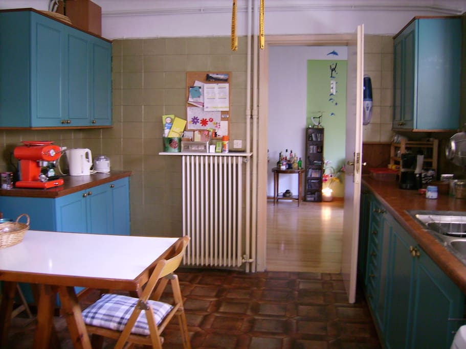 Kitchen and  leaving room
