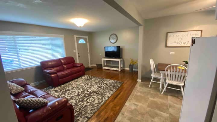 Midtown Haven,  centrally located in Idaho Falls