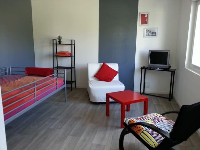 Studio plein coeur de Vertou - Vertou - Apartmen