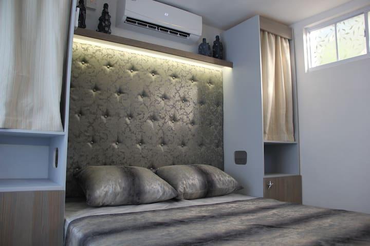 Custom built queen bed