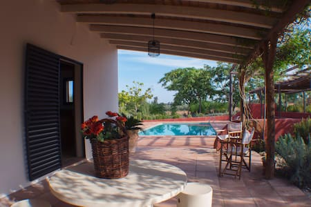 El Montecillo, country cottage, 3 He. property - villamanrique de la condesa - Rumah