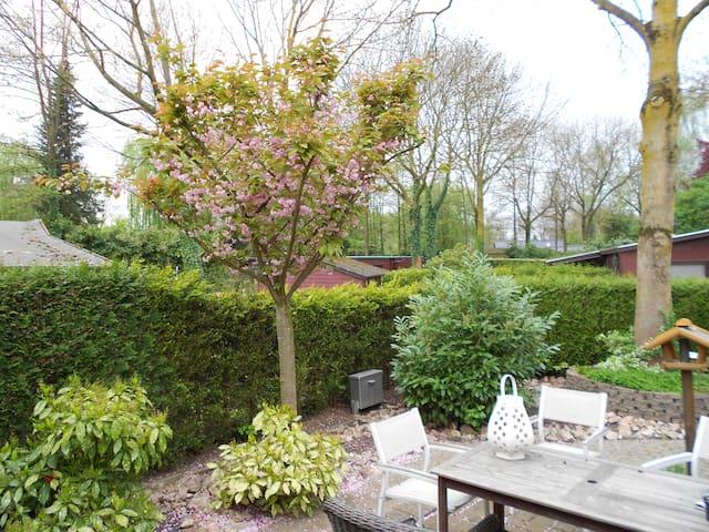 Gastenkamer + ontbijt in houten chalet aan de Waal - Oosterhout Gld - Chalet