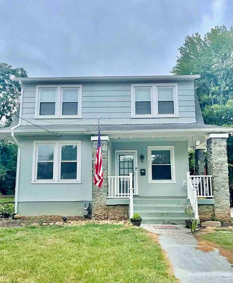 Updated Cape cod home with fenced in yard.
