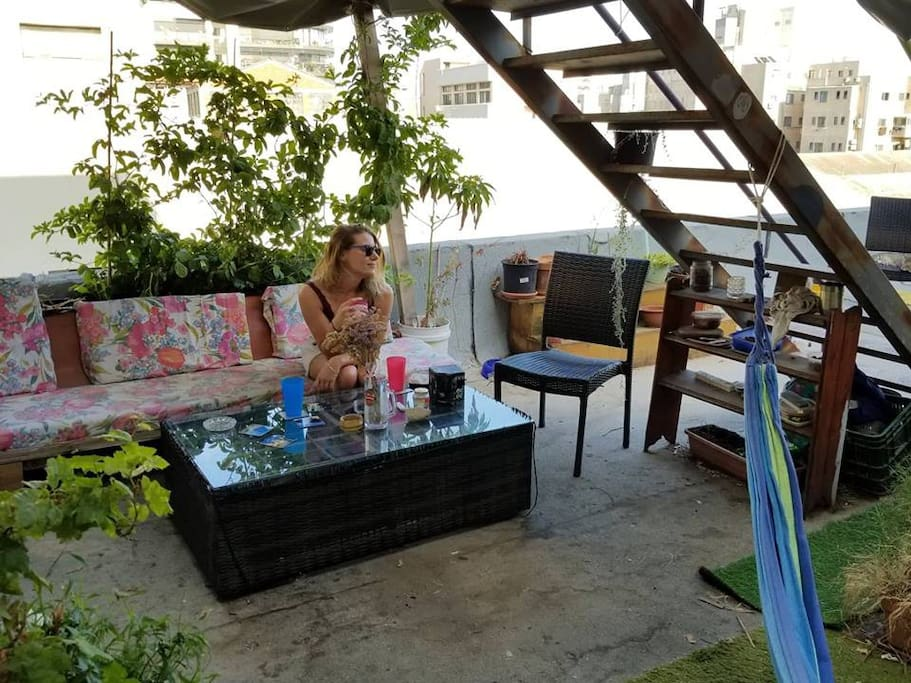 Rooftop chill space I