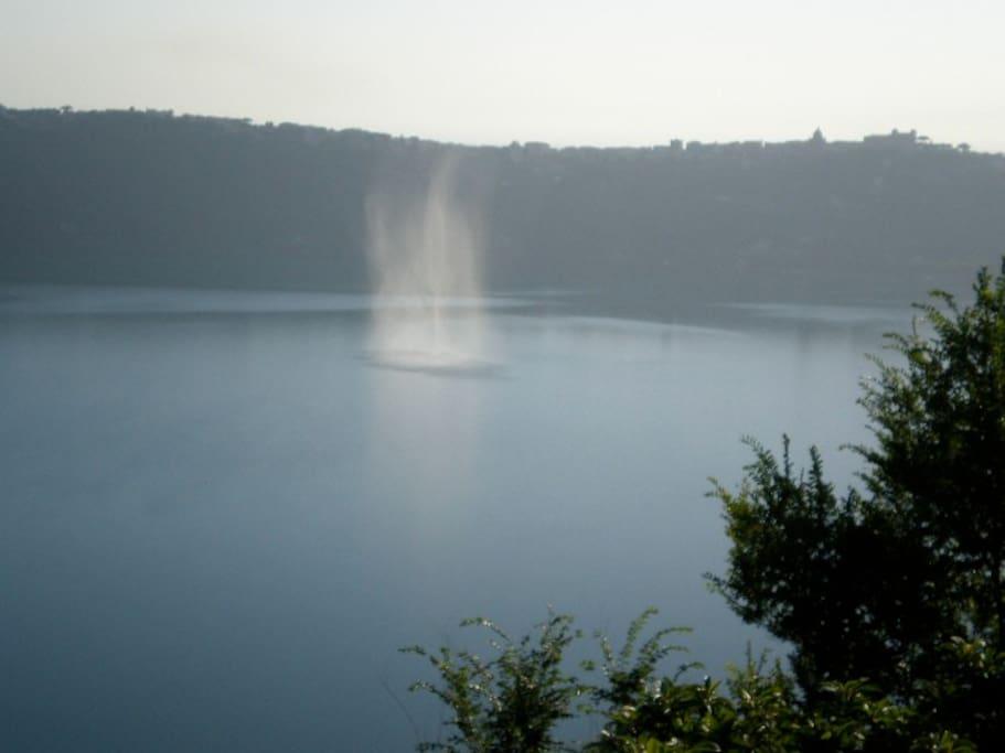 magic moment on the lake