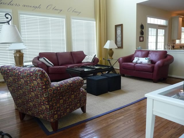 Nice Rooms in Spacious Beach House - Bethany Beach - House