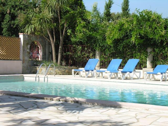 Villa 1 (5 pers) piscine tennis - Sorbo-Ocagnano - Casa