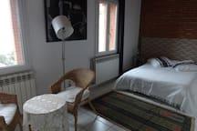 chambre avec double lits