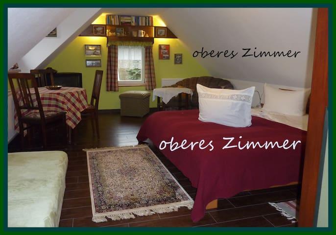 casa vicus nova - oberes Zimmer - Hohnstein - Apartemen
