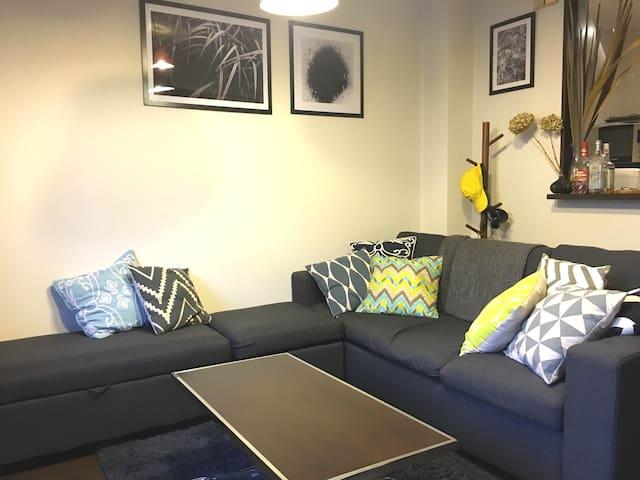 Modern flat, private room in Wakamatsu
