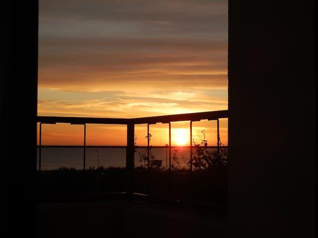 Apartamento com vista para o mar - Carcavelos - Flat