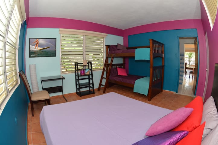 WSSM Surf House: Private Casita - Aguadilla - ที่พักพร้อมอาหารเช้า
