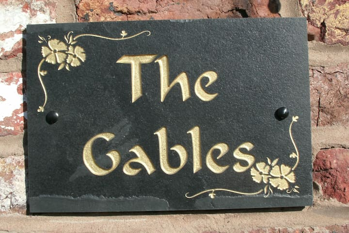 The Gables, comfort, mod cons and relaxation.