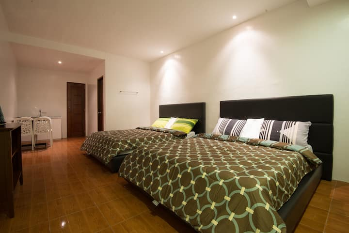 2 bedroom unit inside our resort