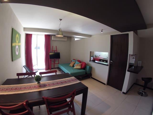 Dpto. 402 dos dormitorios amoblado zona centrica - Santiago del Estero