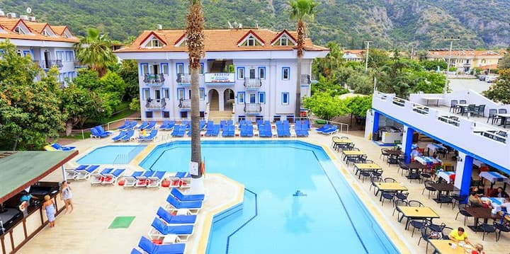 Hotel Akdeniz Beach Bed & Breakfast Single Room 1