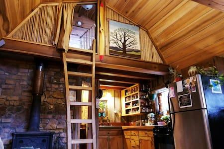Lakeside Cabin  ❤  Seneca Treehouse Project