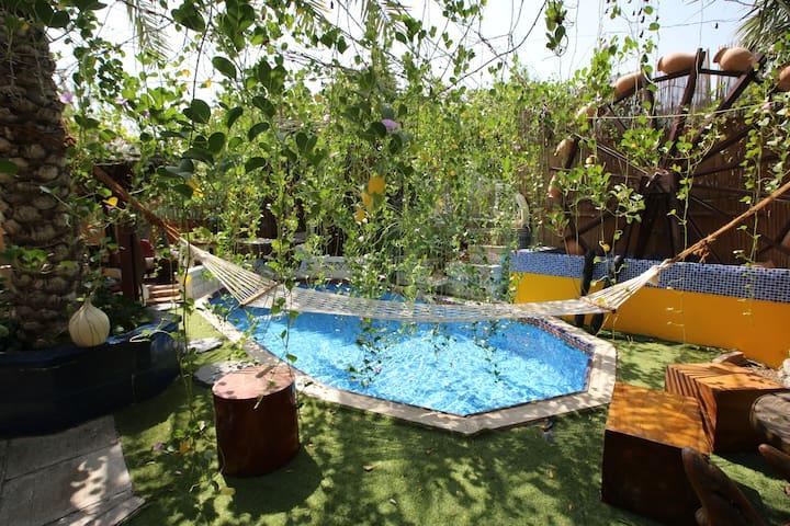Cozy Guest house in a Spiritual hub